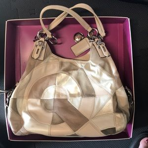 Coach large handbag/shoulder bag